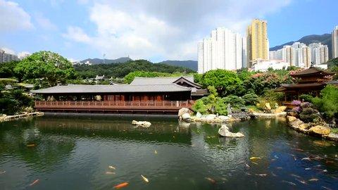 Nan Lian Garden, Chi Lin Nunnery, Diamond Hills, Hong Kong.