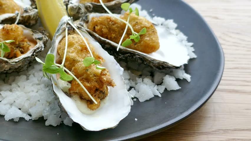 Header of oyster
