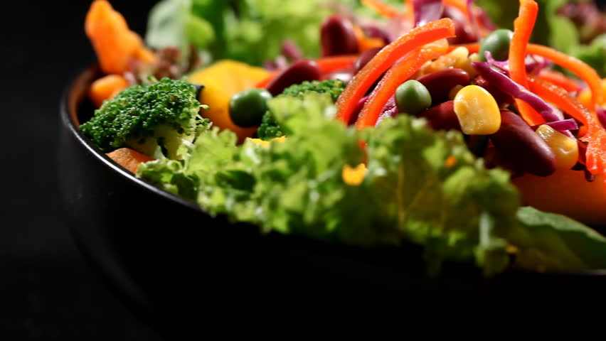 Fresh vegetables salad | Shutterstock HD Video #30377800