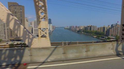 day POV arriving in Manhattan via Queensboro Bridge