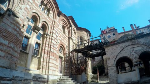 Holly Mount Athos Greece mounastery complex ancient buildings