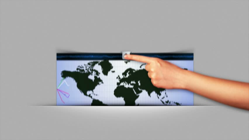 Teacher using interactive whiteboard and laser pointer to show the business concept rendering animation graphs and charts background loop 4k 4k gumiabroncs Images