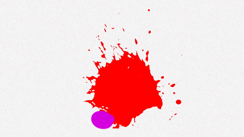 multiple color paint splash