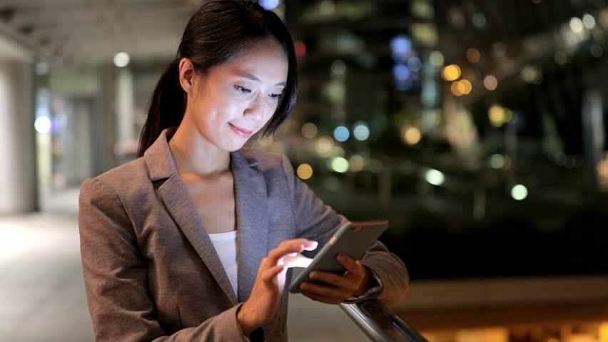 Business woman using smart phone  | Shutterstock HD Video #30654097
