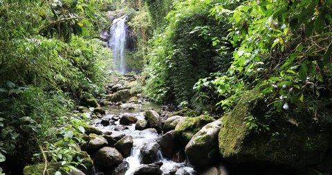 lost waterfall boquete panama