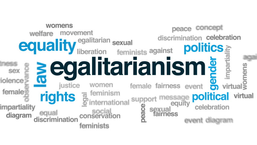 Header of egalitarianism