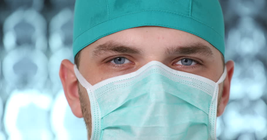Up 31082020 Shutterstock Royalty-free Surgeon Of Video Portrait Footage Close Stock 100