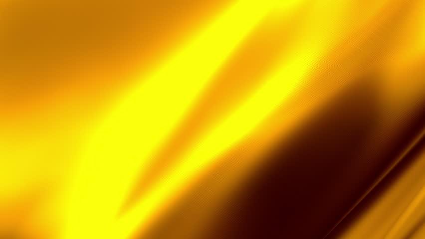 Gold Waving Satin Texture Background