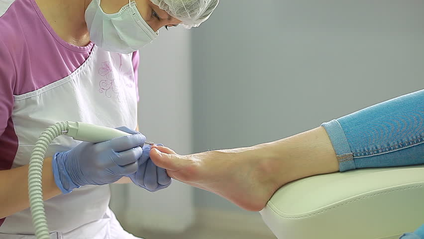Podologist Procedure Health Foot Nails