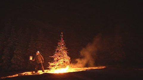 The Xmas Tree Arsonist