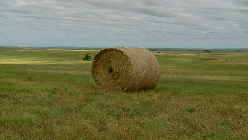 Header of haybale
