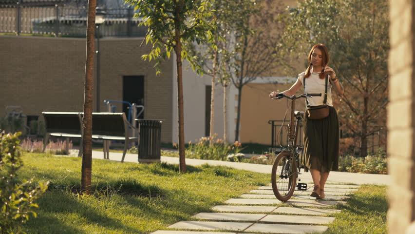 Image result for riding bikes and walking
