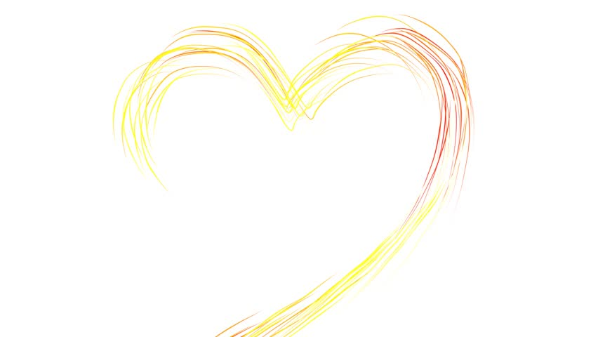 Clip Art Line Of Hearts : Beautiful flashing colorful artistic hearts make great love theme