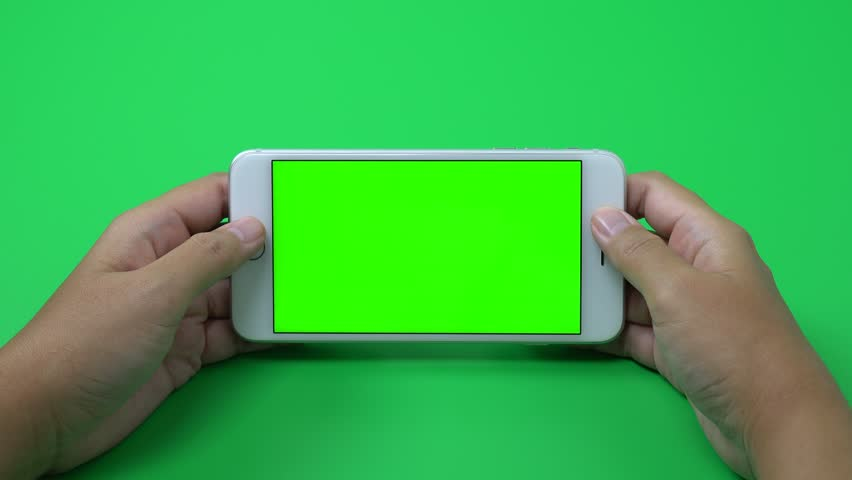Woman hand holding mobile smartphone with green screen blank background business and technology 4K | Shutterstock HD Video #31839820