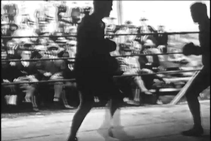 Circa 1920s -- a Boxer, Stock Footage Video (100% Royalty-free) 31840270 |  Shutterstock