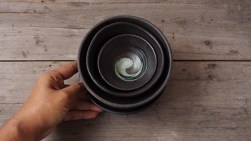 Empty bowls | Shutterstock HD Video #31930330
