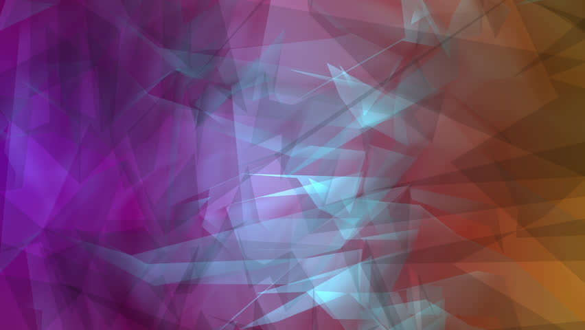 Abstract random polygon shapes, creative motion background  | Shutterstock HD Video #31989940