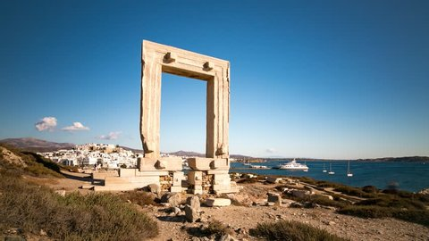 4K Timelapse at Naxos Island, Cyclades, Greece Naxos08