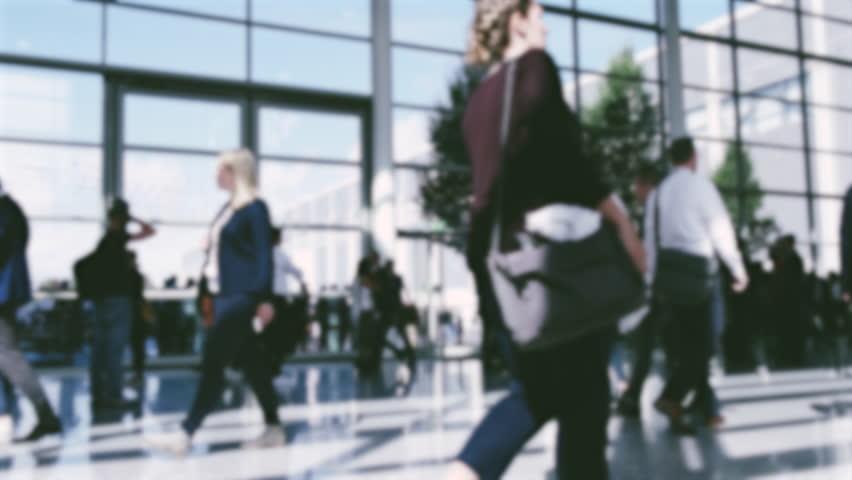Trade fair visitors | Shutterstock HD Video #32248756