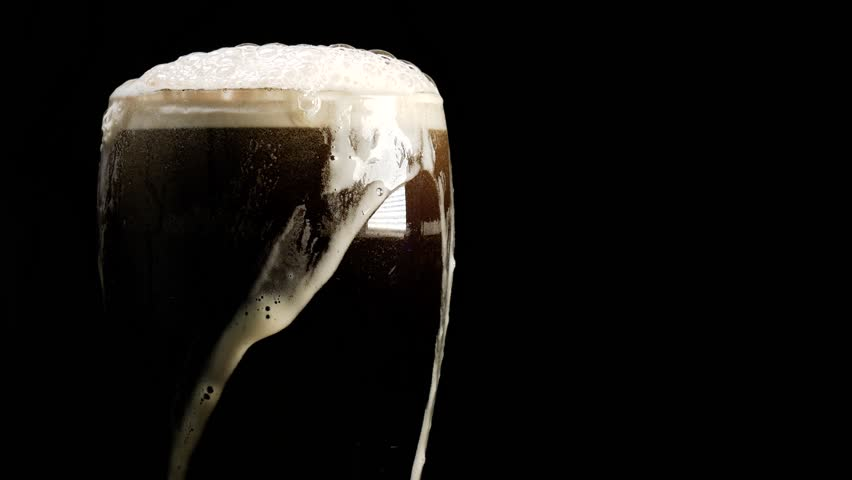 Hand grab a pint of beer. Stout, dark ale or porter
