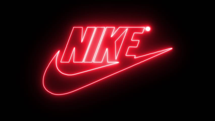 Nike with Neon Lights  Editorial Stock Footage Video (100% Royalty-free)  32368180 | Shutterstock