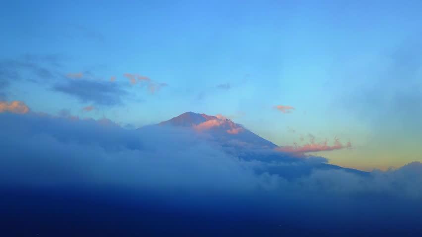 Bali Volcano Mount Agung | Shutterstock HD Video #32373640