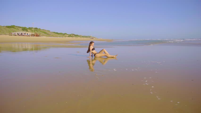 Nude beach video clips