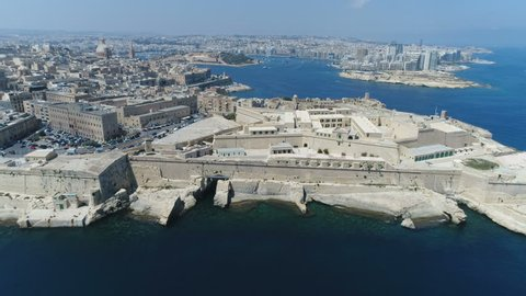 Malta Drone Valletta Forward