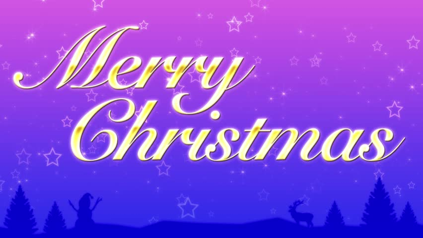 Merry Christmas background loop | Shutterstock HD Video #32627920