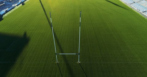 rugby field and stadium