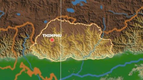 Thimphu Bhutan Stock Video Footage - 4K and HD Video Clips ...