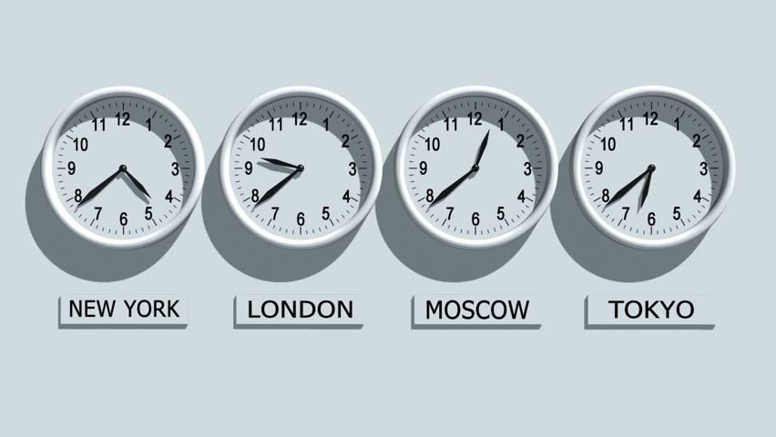 new york, london and tokyo time, world time zones, three clocks
