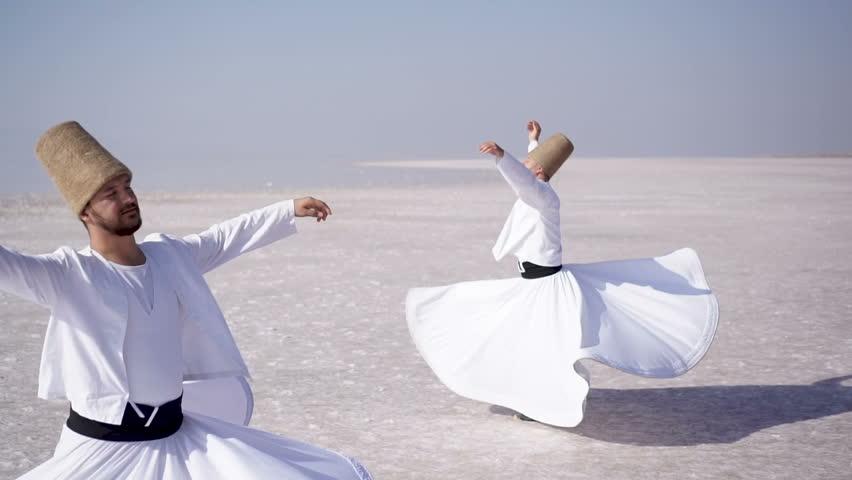 Whirling dervishes,Sufi dance,Mevlana,Rumi,semazen