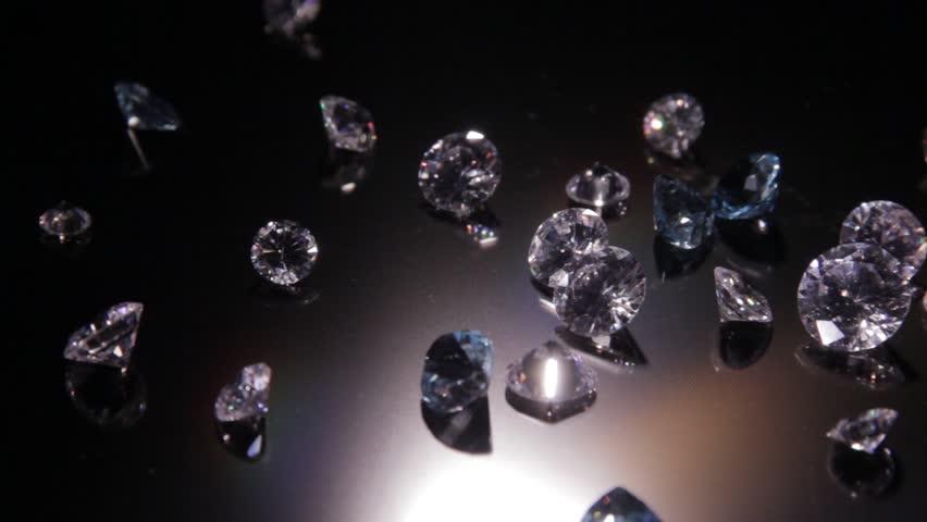 Strewed diamonds | Shutterstock HD Video #3274151