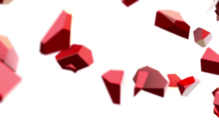 10 percent discount red glossy symbol animation