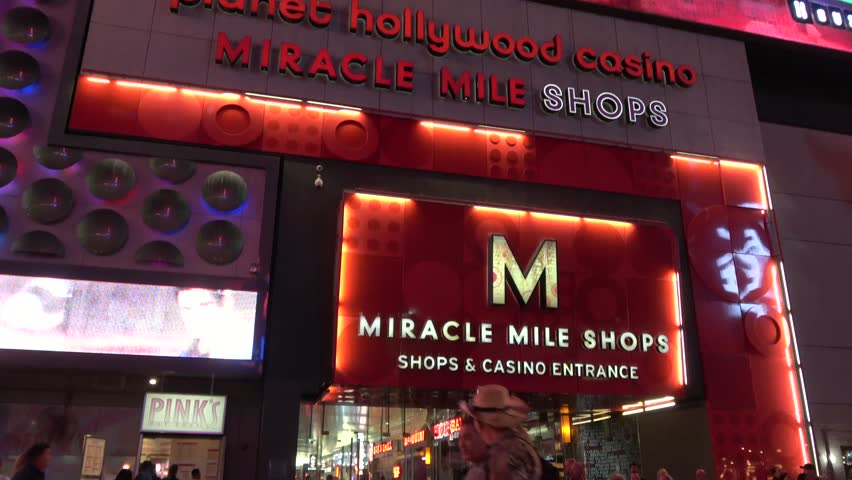 Miracle Mile Shops at Planet Hollywood Hotel and Casino in Las Vegas - LAS VEGAS / NEVADA - OCTOBER 12, 2017 | Shutterstock HD Video #32843779