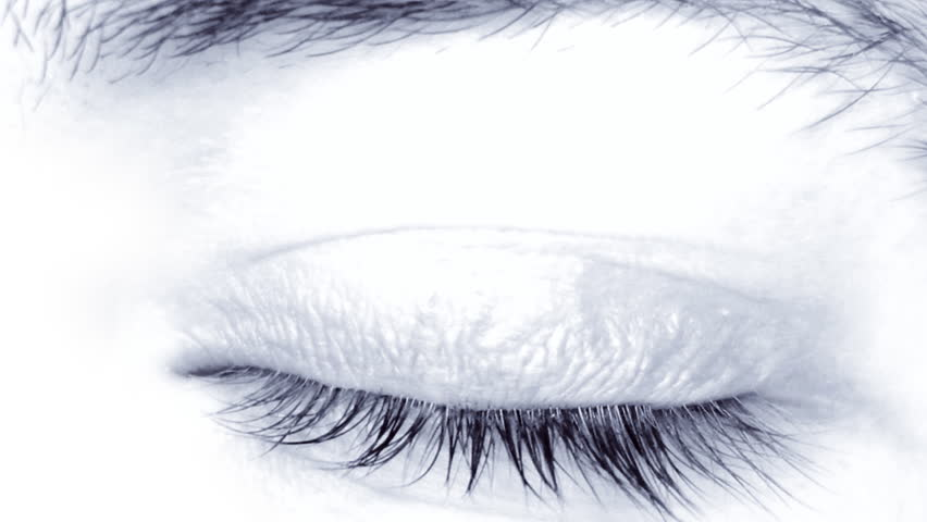 Male eye close-up, HD