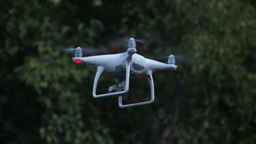 Advanced Aerial Cinematography Quadcopter Drone Technology (DJI Phantom 4)