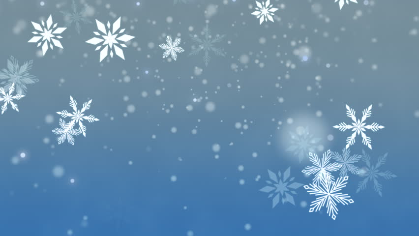 White snowflakes, stars and abstract bokeh particles falling. Happy New Year and Merry Christmas shiny background. Luxury and elegant dynamic style template in 4k footage. Video format 3840x2160 | Shutterstock HD Video #33165067
