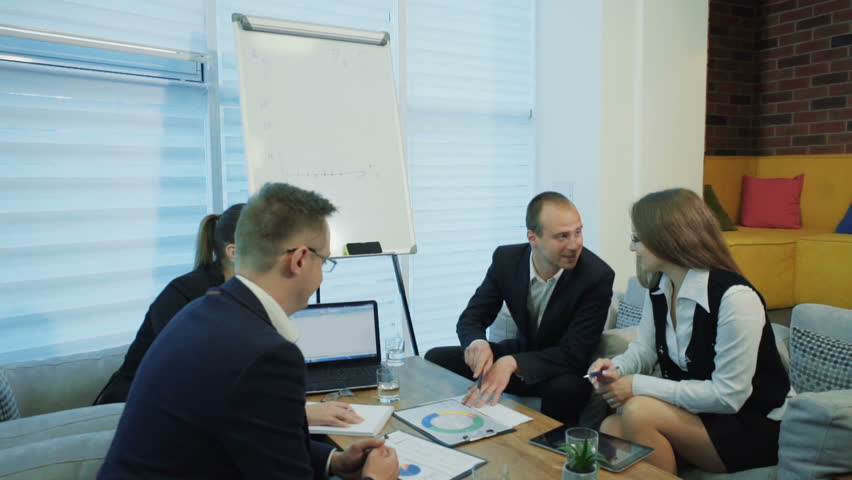 Business people working in conference room | Shutterstock HD Video #33192391