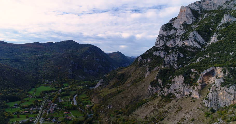 mountain in aerial view #33211240