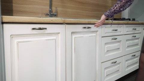 Vintage Kitchen Cupboard Stock Video Footage 4k And Hd Video Clips