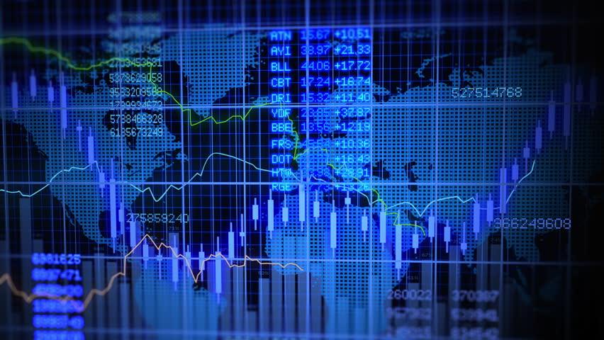 Stock Market Exchange Rate Data Investment Profits Infographic Background Animation. Stock Market. Stock Market Figures. Stock Market Rate.