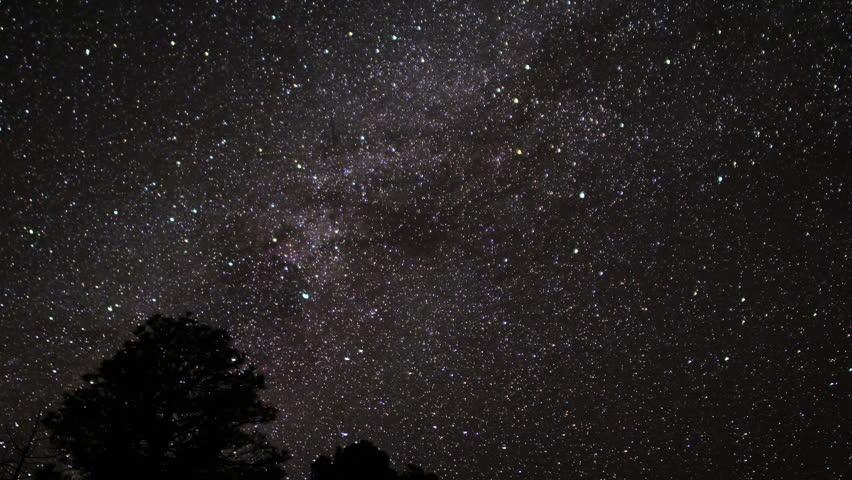 Milkyway Timelapse 25 Zoom In | Shutterstock HD Video #3339491