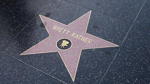 HOLLYWOOD, CA - DECEMBER 01: Brett Ratner star on the Hollywood Walk of Fame in Hollywood, California on Dec. 1, 2017.