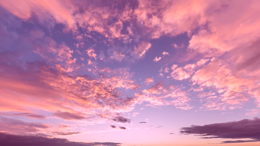 EVENING CLOUDS FAST MOVING AWAY, ROLLING DARK SUNSET CLOUDS, Red purple orange blue pink sunset sky cloud Red purple cloudscape time lapse background Dark red purple sunset sky cloud timelapse,FULL HD