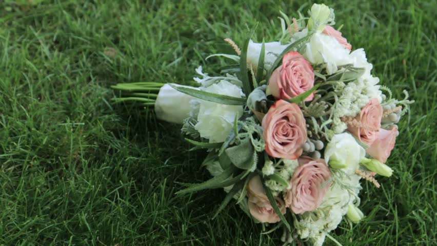 Flowers, rich bouquet, bridal bouquet, beautiful flowers | Shutterstock HD Video #33624955