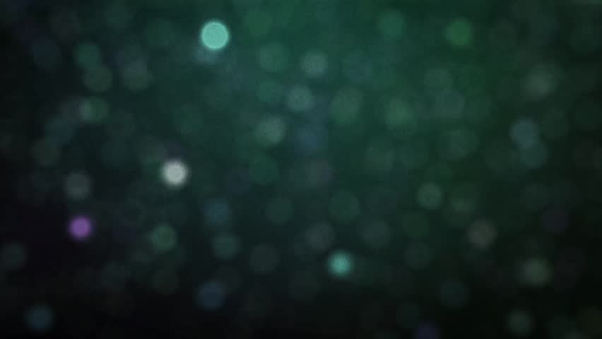 Defocused Particle Background Cyan