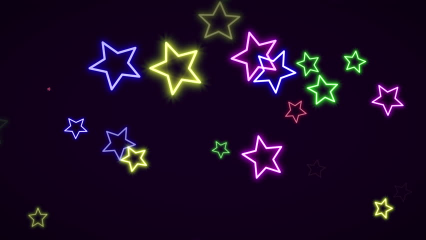 Motion Retro Stars Abstract Background  Stock Footage Video (100%  Royalty-free) 33713200 | Shutterstock