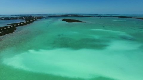Florida Sugarloaf Key amazing nature aerial shots
